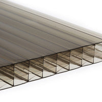 25mm Multi Wall Polycarbonate - Bronze