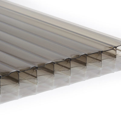 25mm Multi Wall Polycarbonate - Bronze/Opal