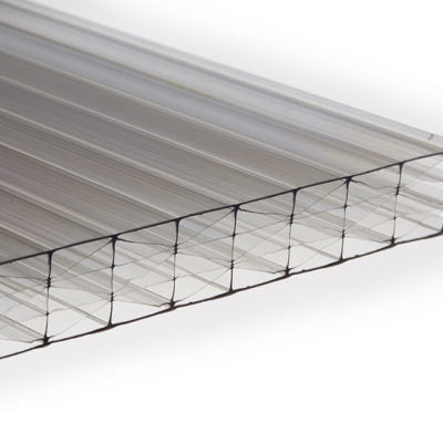 25mm Multi Wall Polycarbonate - Clear