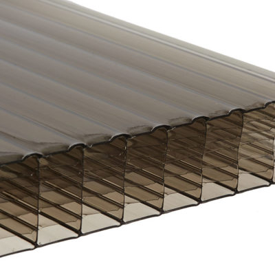 35mm Multi Wall Polycarbonate - Bronze