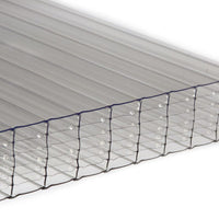 35mm Multi Wall Polycarbonate - Clear