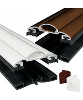 Rafter Supported Aluminium Screw Down Glazing Bar