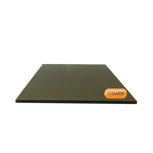Axgard Solid Polycarbonate Glazing Sheet - BRONZE