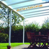 Evolution D.I.Y. Carport / Canopy Kit - WHITE Frame