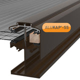 Alukap-SS Low Profile Gable Bar