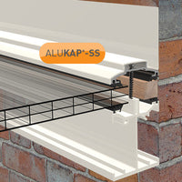 Alukap-SS Low Profile Wall Bar
