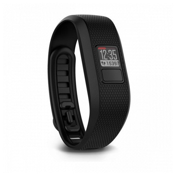 Activity-Armband GARMIN 010-01608-06 VIVOFIT 3 Bluetooth 5 ATM Schwarz