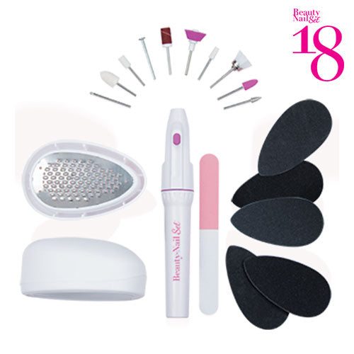 Beauty Nail 18 Pediküre Set