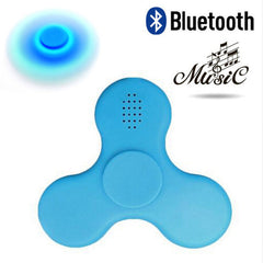 Wholesales LED Mini Bluetooth Speaker Music Fidget Spinner EDC Hand Spinner for Autism And Kids Adult Funny Fidget Toy