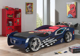 Gran Turismo Blue Racing Car Bed