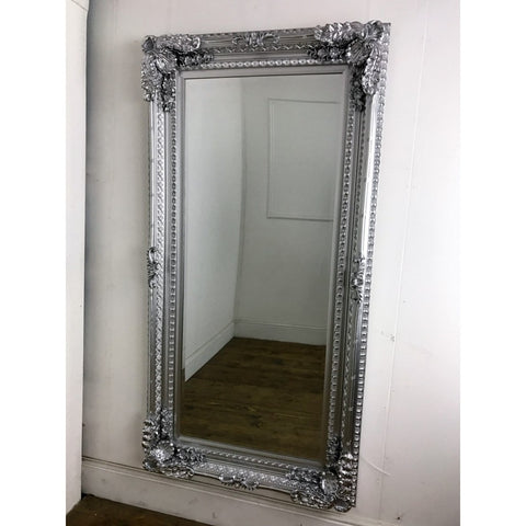 Cambridge Silver Large Ornate Mirror