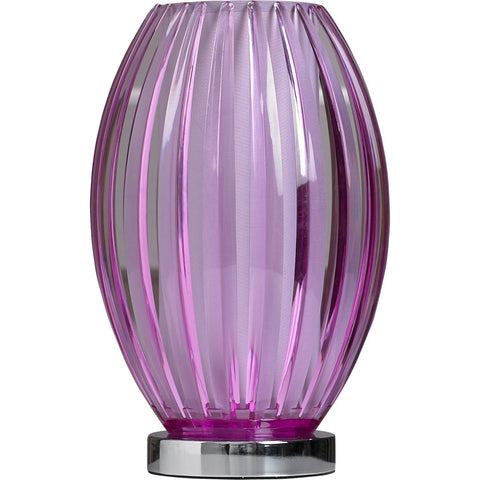 Gemma Purple Table Lamp