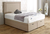 Maurise Studded Border Ottoman Storage Bed