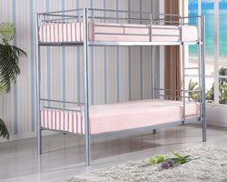 Saffron Silver Bunk Bed