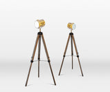 TF2675L - Large Wooden Tripod Lamp