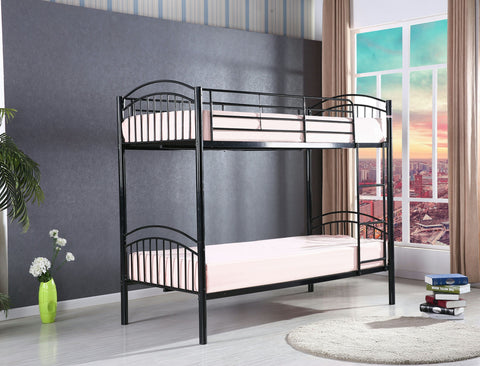 Yorkshire Black Bunk Bed