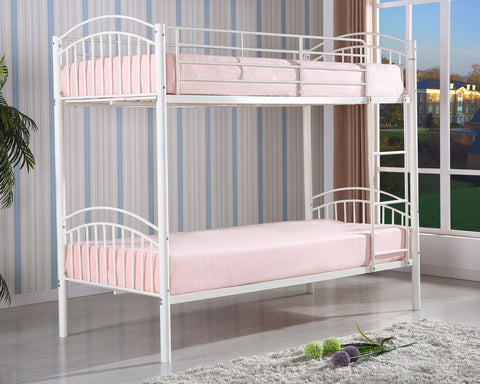 Yorkshire White Bunk Bed