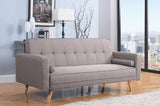 Erwin Beige Large Sofa Bed