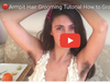 How to Groom Hairy Armpits Body