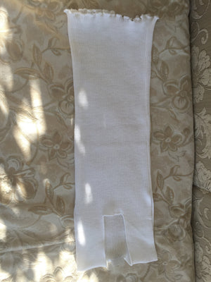 White Thermal Tank Top - Womens' & Mens