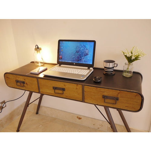 Retro Industrial Desk 3385