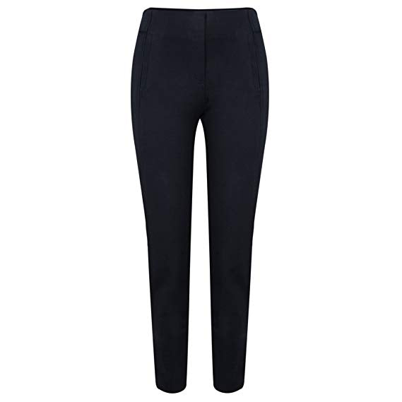 Robell Navy Trousers Rose 51673-69