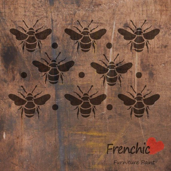 Stencil - Busy Bees