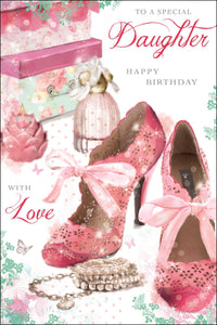 Birthday Daughter - Greetings Card