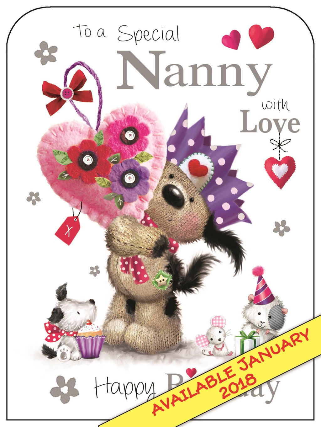 Nanny - Greetings Card
