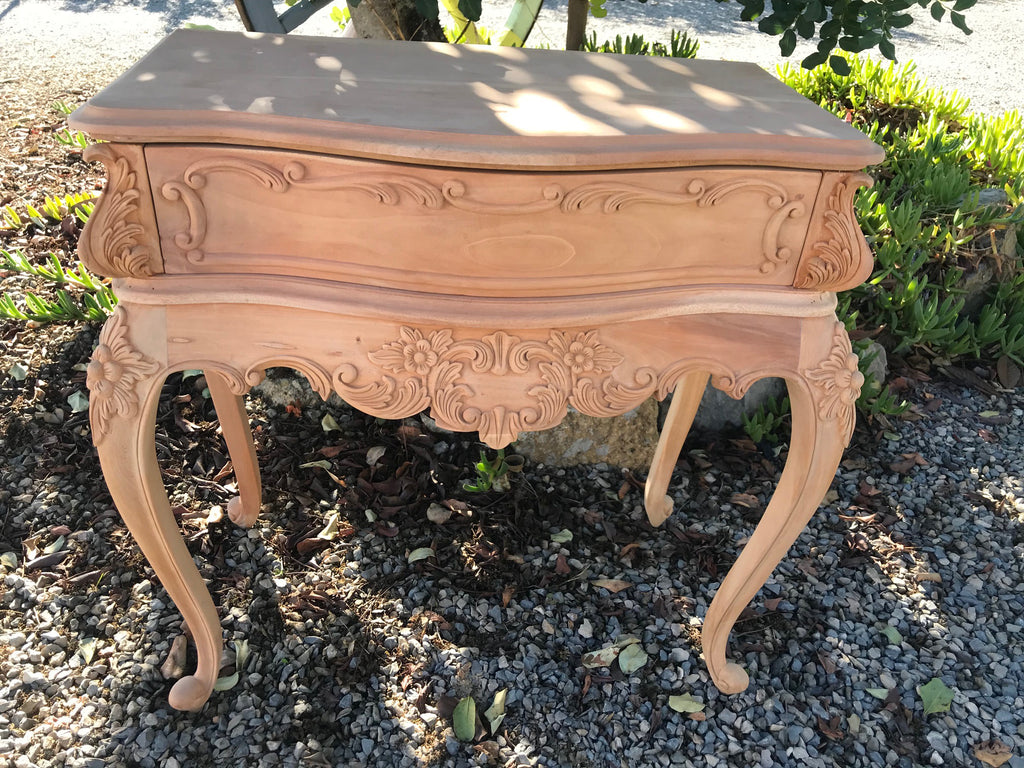 Ivory Baroque Bedside Table (Cabinet ) BT100