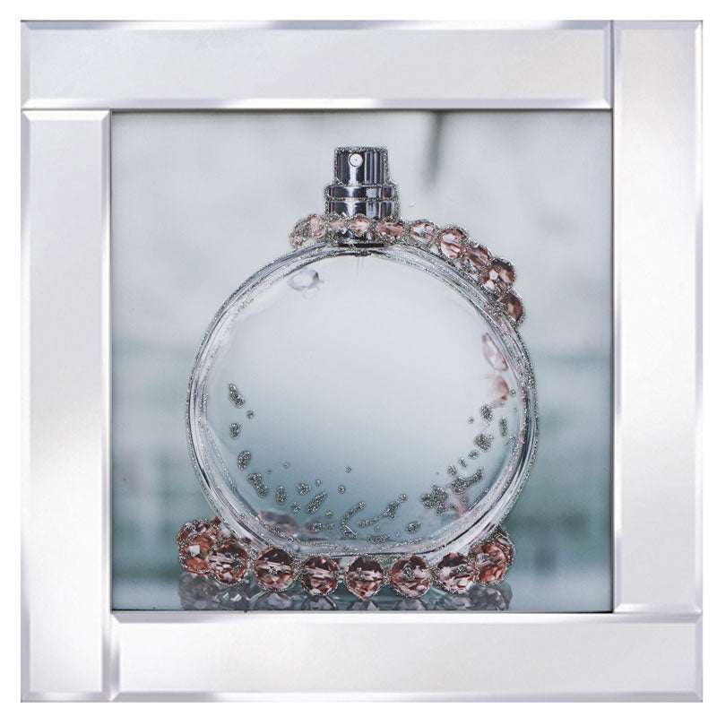 Round Perfume Bottle Mirror M106