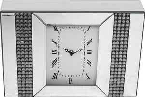 Mirrored Desk clock