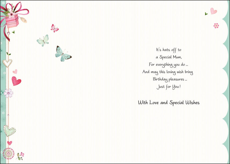 Wonderful Mum - Greetings Card