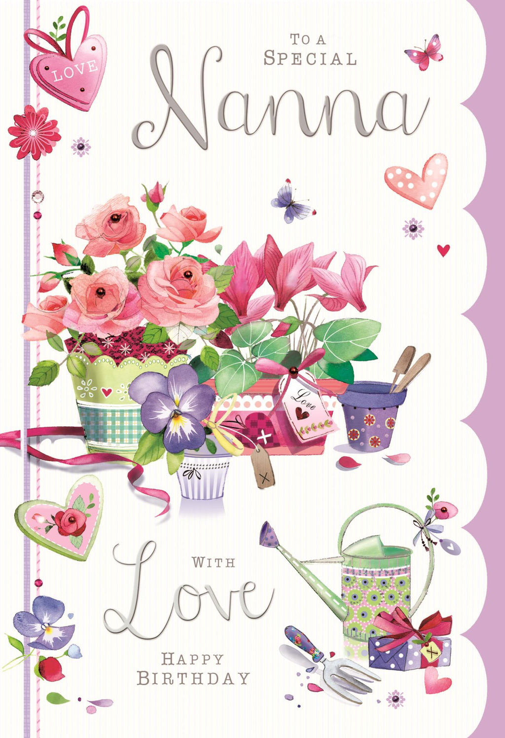 Nanna - Greetings Card