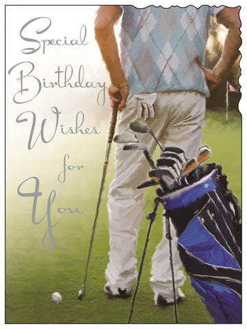 Male Birthday (Golfer)
