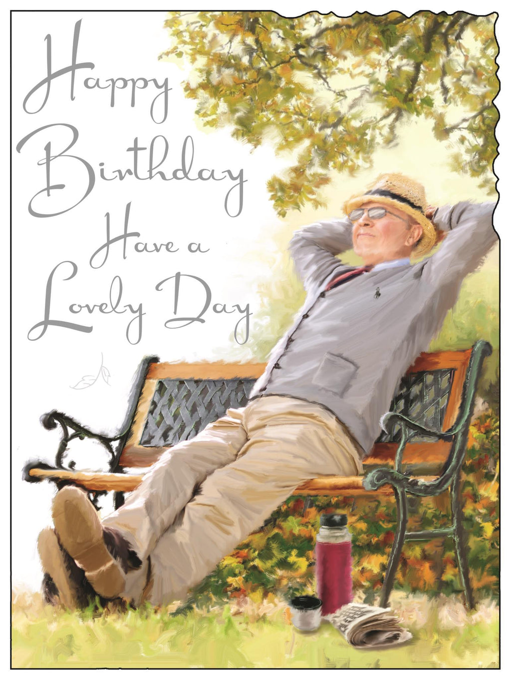 Male Birthday (Park Bench)