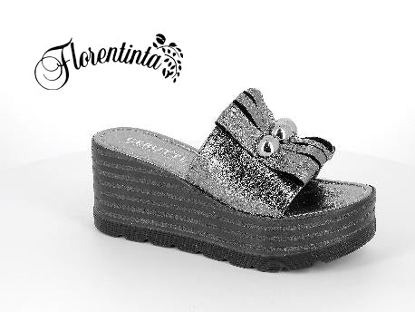 Cerutti Pewter Wedges (Shoes)
