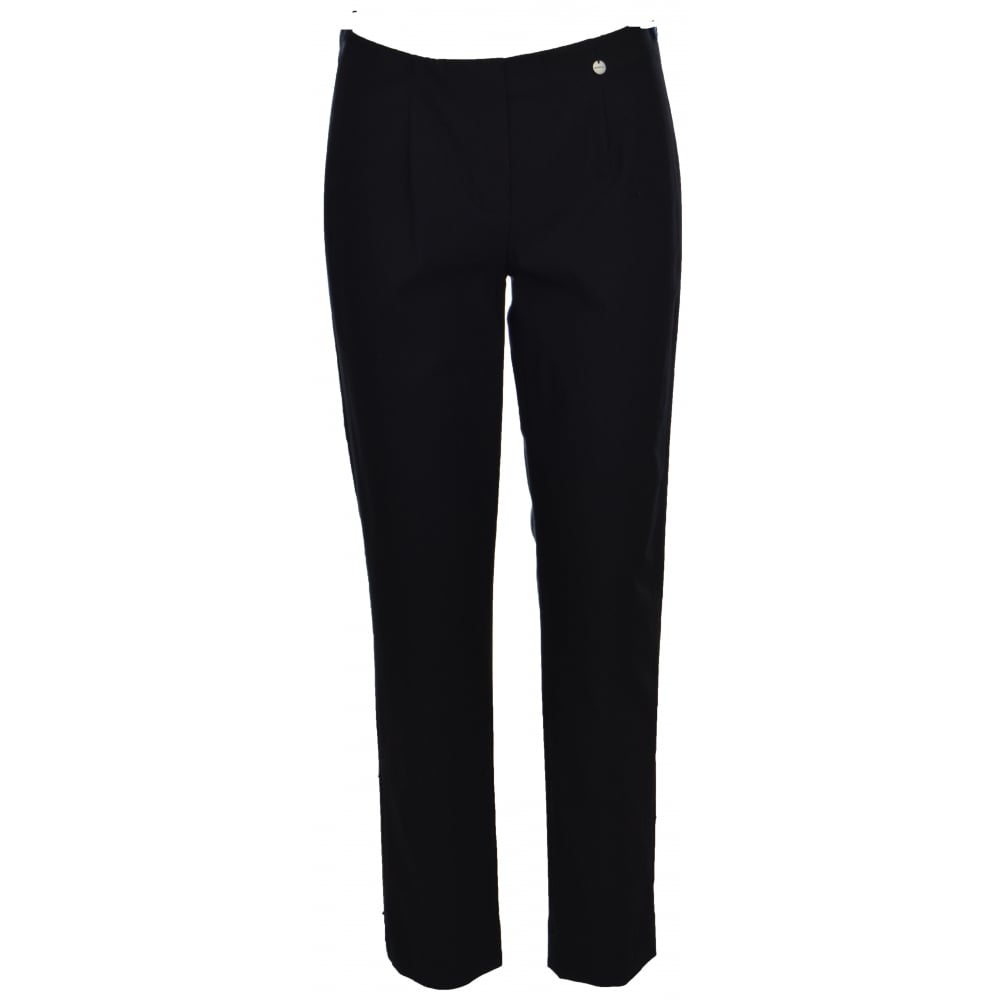 Robell Black  Trousers Marie 51412-90