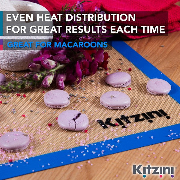 Kitzini Great Baking Results Silicone Baking Tray Liner