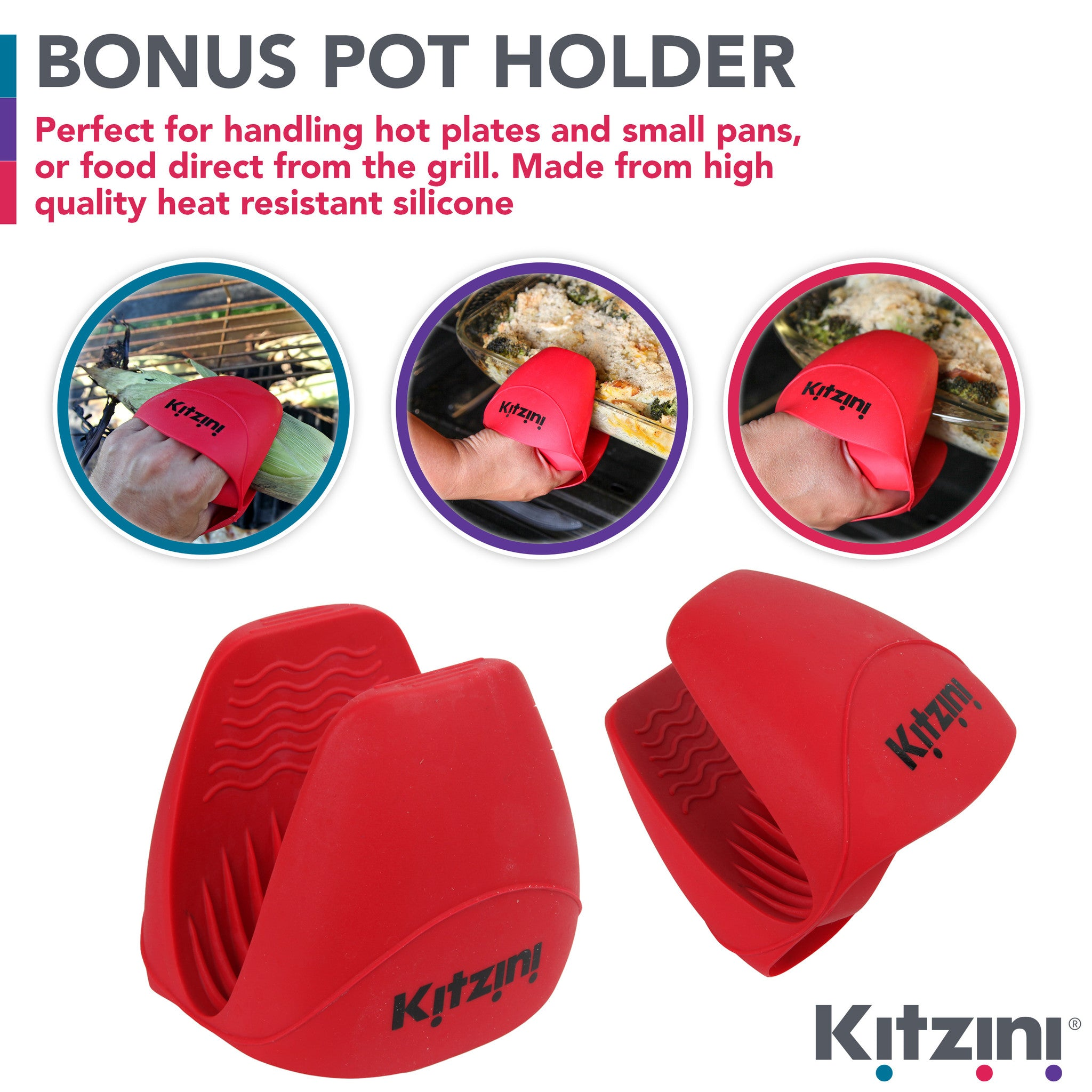 Kitzini Silicone Pot Holder