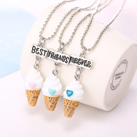 Best Friends Forever Ice-cream 3 Pieces/lot