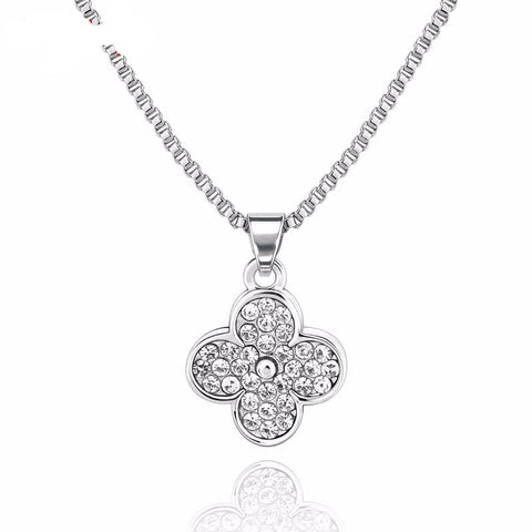 Brightly Love Four Leaf Clover Necklace
