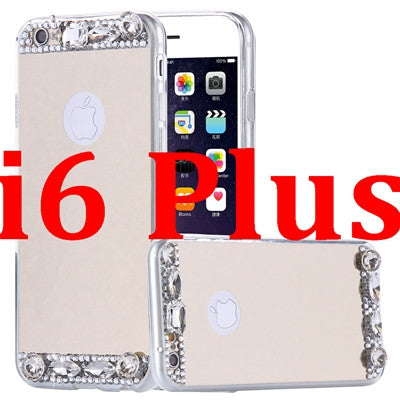 "iPhone Case ""Glam Mirror"" (5, 5S, SE, 6, 6S, 6S Plus, 7)"