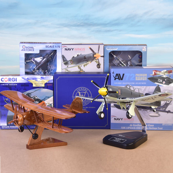 Models - Aviation History on your desk or shelf