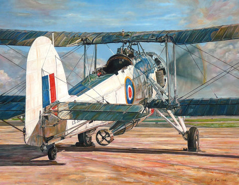 Swordfish LS326 print by Stephen Fox