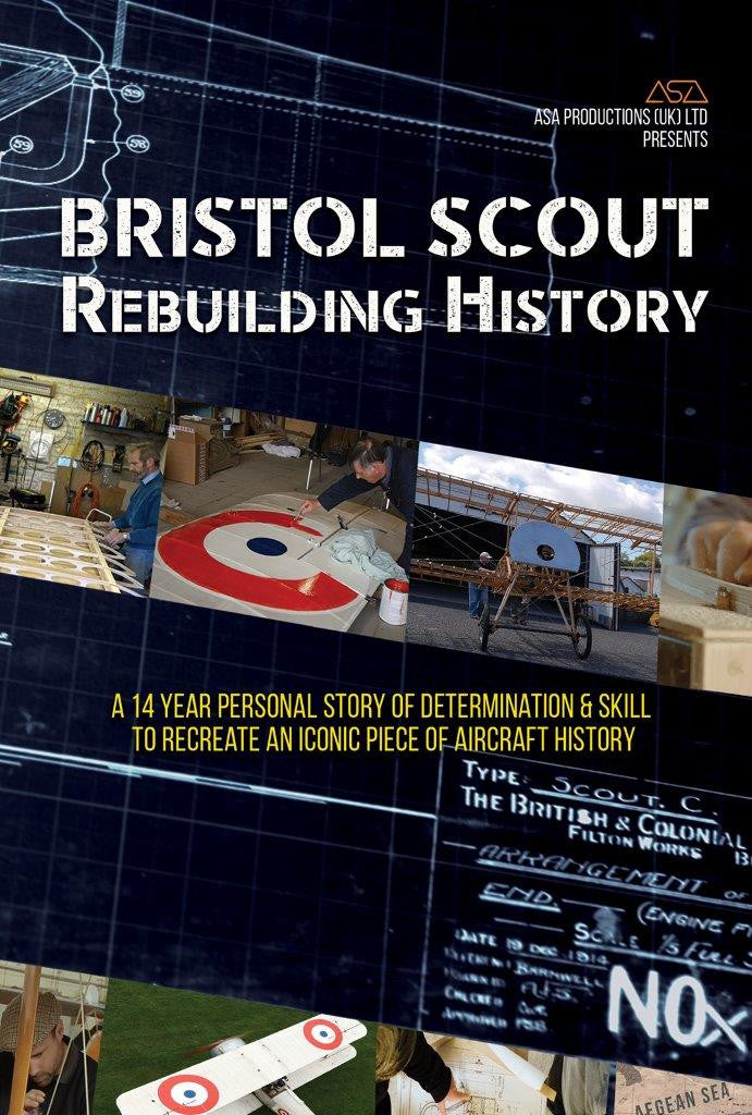 Bristol Scout - Rebuilding History - DVD - A fascinating documentary