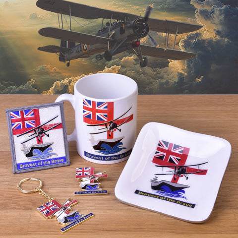 Bravest of the brave collection Fairey Swordfish Fleet Air Arm aircraft carrier