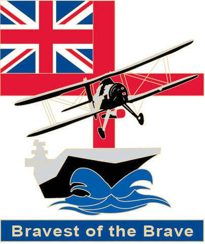 Bravest of the Brave Mug. Commemorating the endeavour and achievements of the Fleet Air Arm,