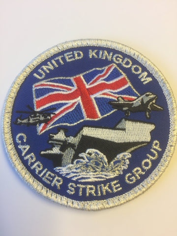 United Kingdom (UK) Carrier Strike Group Badge. Travis Getz