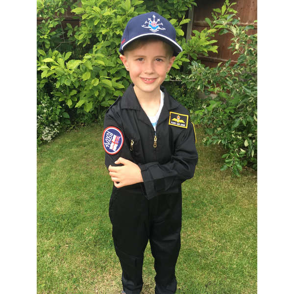 Fleet Air Arm Flying Suit for children (includes 3 patch badges)